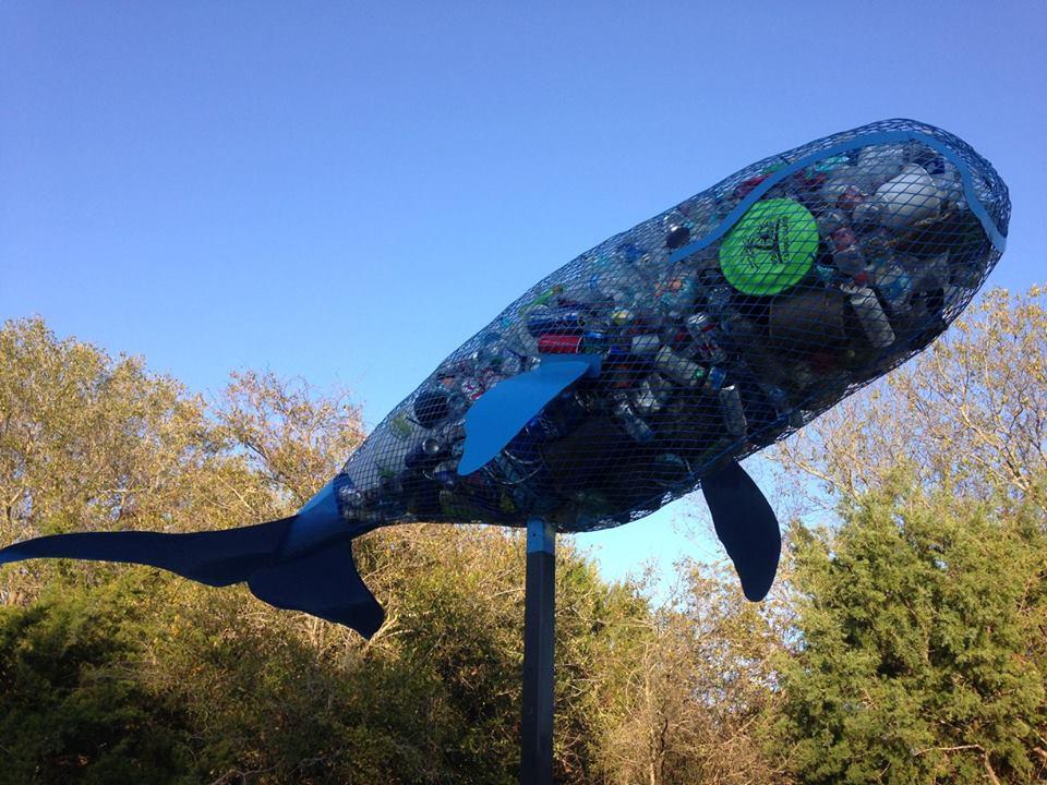 littersculpture installation 2317 Coast Guard Stattion3