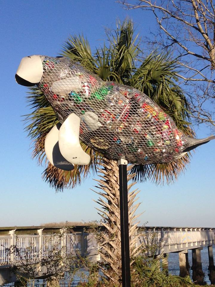 littersculpture installation 2317 Coast Guard Stattion7